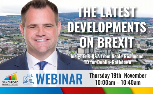 Check out the latest developments on Brexit brought to you by Neale Richmond TD
