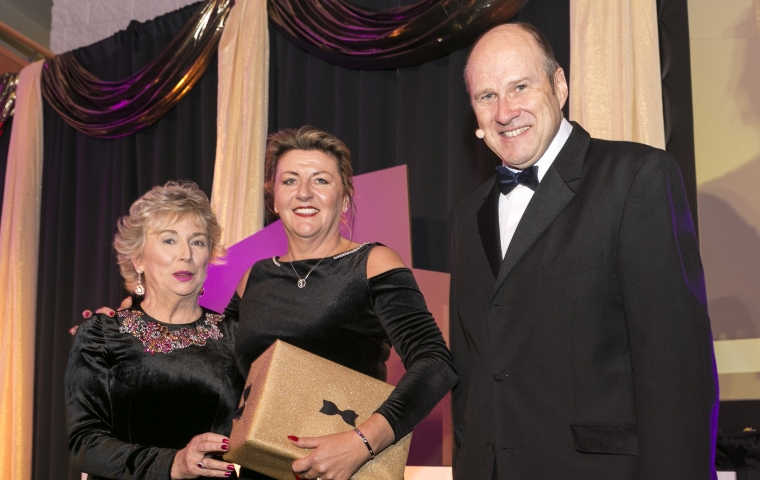 Sharon Scally - Chairperson - Sandyford BID CLG, Viv Gaine - Sandyford BID CLG, Ivan Yates