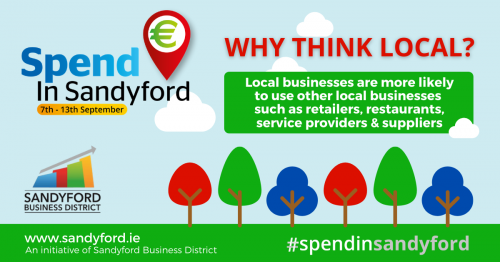 Spend in Sandyford Christmas Campaign - Help Reboot The Local Economy