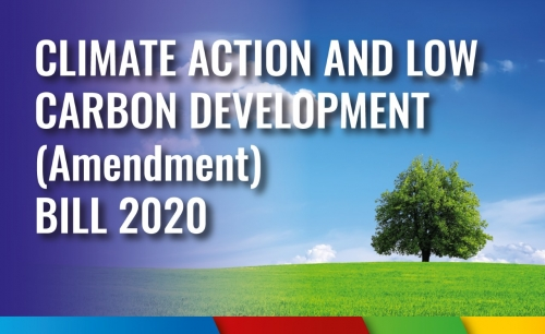 Climate Action and Low Carbon Development (Amendment) Bill 2020