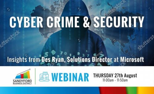 Cybercrime and Security Webinar