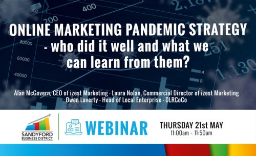 Online Marketing Pandemic Strategy - who did it well and what can we learn from them webinar