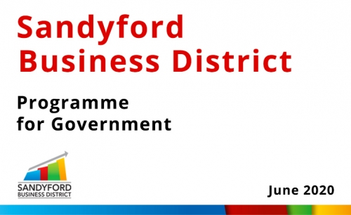 Sandyford Business District Programme For Government