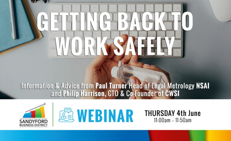 Getting Back To Work Safely Webinar