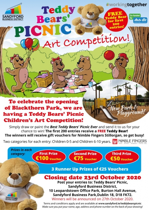 Teddy Bears' Picnic Art Competition