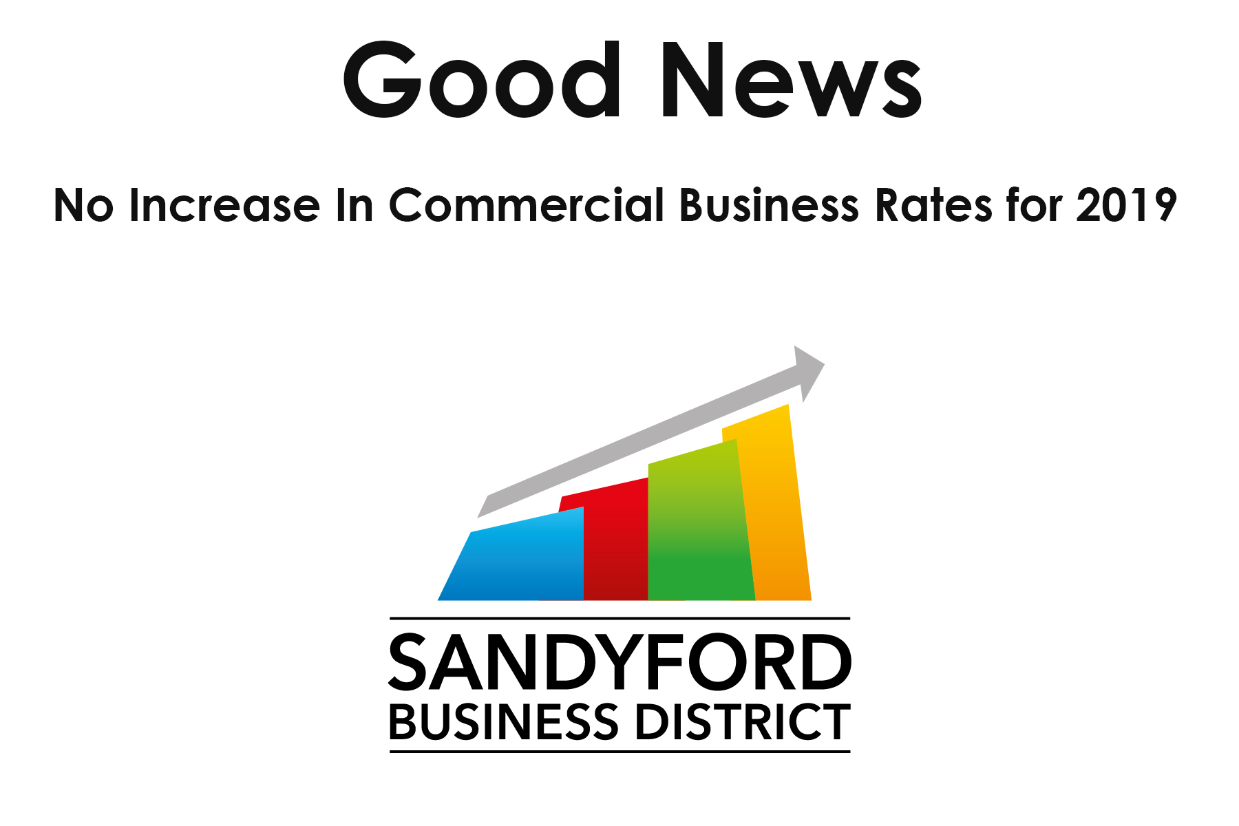 No Increase in Commercial  Business Rates for 2019