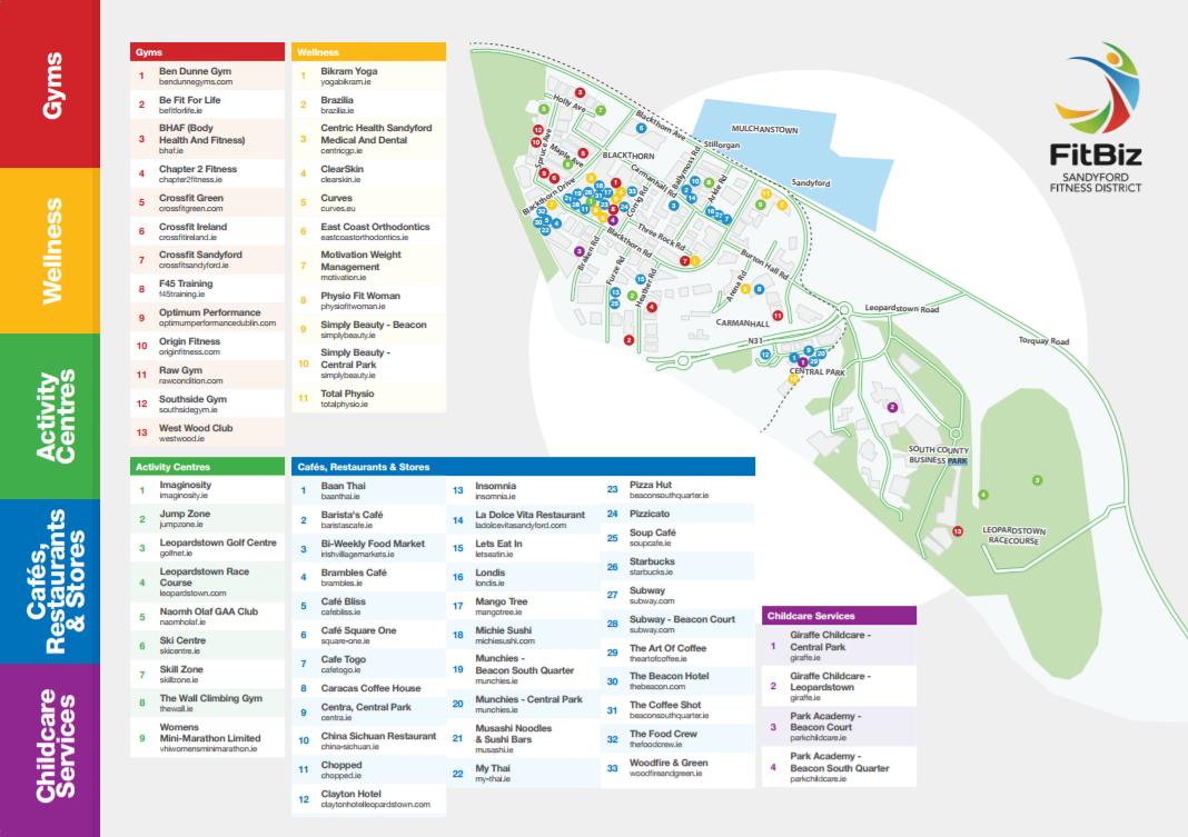 FitBiz Map
