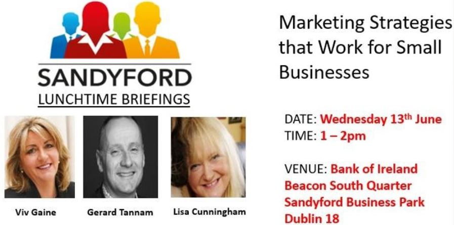 Marketing Strategies that Work for Small Businesses - Lunchtime Briefing