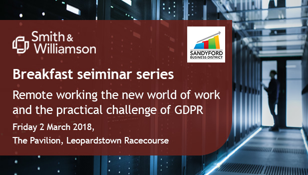 Sandyford GDPR Breakfast Seminar