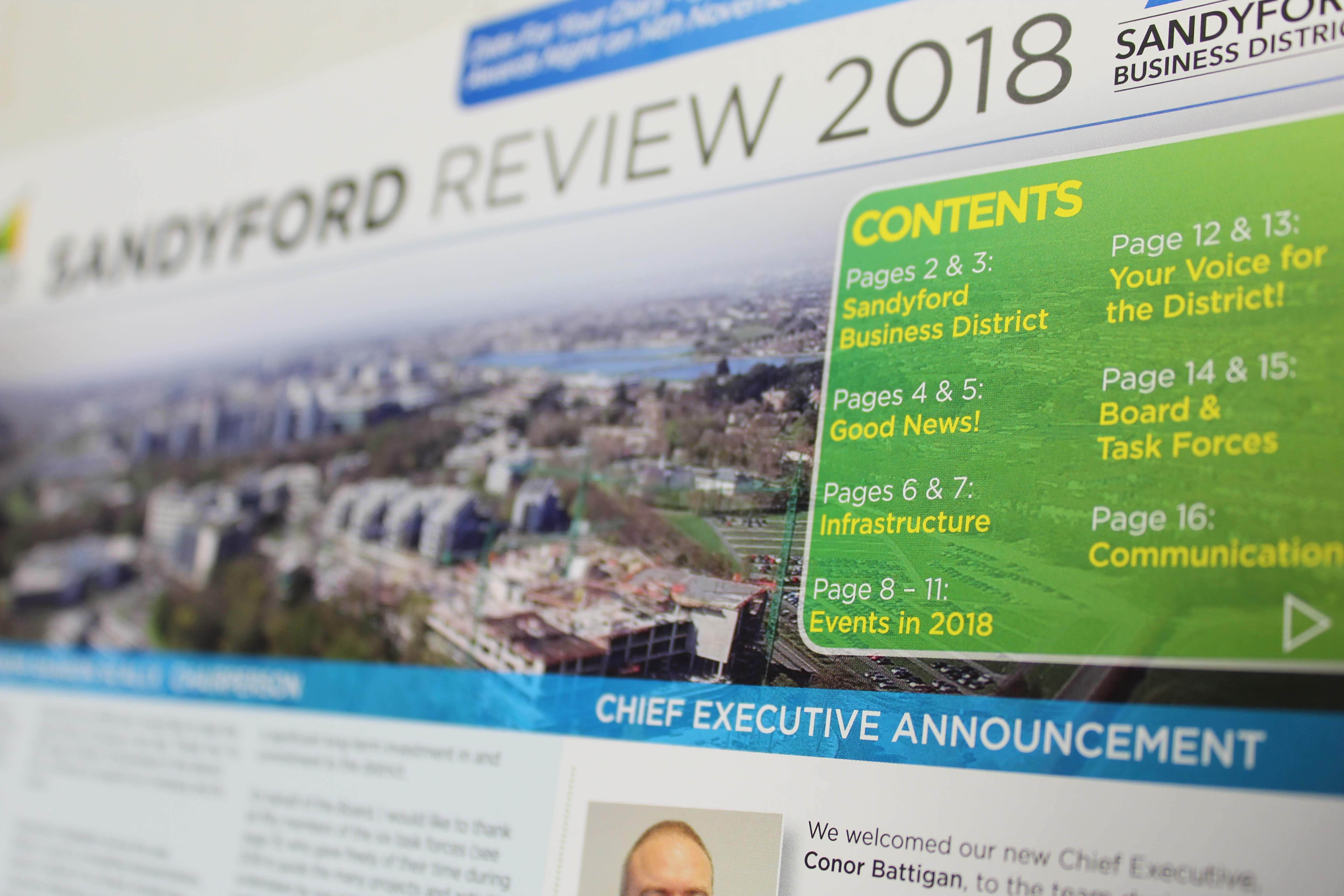 Sandyford Business District Review 2018