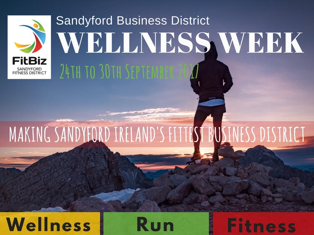 Wellness Week - Promoting Fitness & Wellbeing in Sandyford