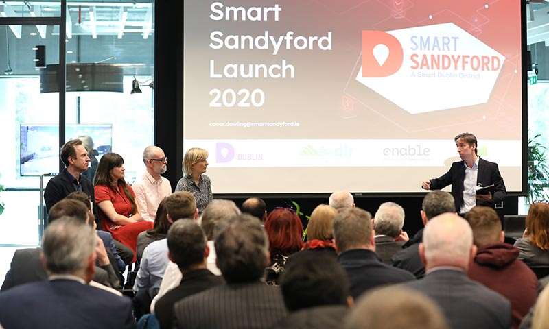 Sandyford Business District launches Smart Sandyford